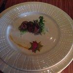 Capers -- Duck salad