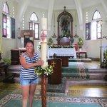 Alba en el altar