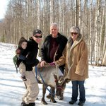 Four generations and a reindeer