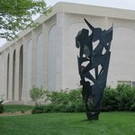 Sheldon Museum of Art - sculpture garden