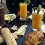 Le Septieme breakfast
