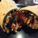 Superfood Veggie Wrap -- SOOOO GOOD