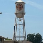 The famous Warner Bros. water tower