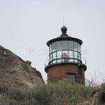 lighthouse from beach