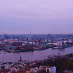 The Hamburg Docks