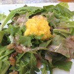 Salad with Passion Fruit Dressing