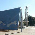 Mais uma linda obra de Niemeyer