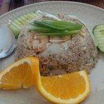 Khao Pad - Thai Fried Rice with Shrimp