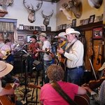 Live music in Saloon Occidental Hotel