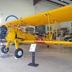 A Stearman biplane