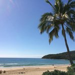 Gorgeous Noosa beach... right outside the room