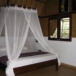 Main room, comfy bed