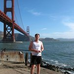 Golden gate bridge / Crissy Fields, San Francisco California June 2014. Graham Phelps