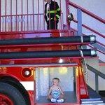 A fire truck kids can climb on.....dress up too!