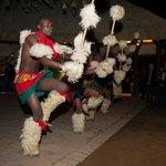 Zulu Dancers in the Boma-2