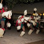 Zulu Dancers in the Boma-1