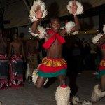 Zulu Dancers in the Boma-4