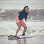 I never surf in my life (not even good at swimming) and always want to do it. One lesson with UP