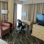 Room 910 is a corner room.