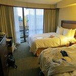 Bedroom, junior suite, room 1602