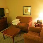 Living room, junior suite, room 1602
