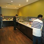 "Breakfast buffet at ""Cavu"""