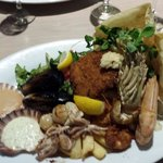 "Seafood basket at ""The Main Cafe Bar"" Eltham Vic"