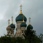 Cathédrale Saint Nicolas sous les nuages