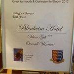 Flower award