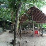 Front dinning hut
