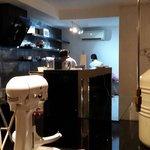 Kitchen which like a laboratory