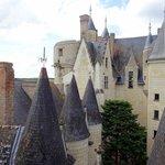 les toits du château