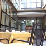 Sala colazione all'esterno