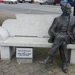 Statue of Percy French in Ballyjamesduff.