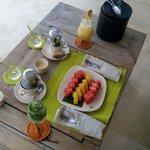 Erfrischender Früchtemix