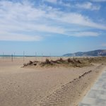 La plage de Castelldefels