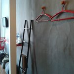 Place to hang cloth
