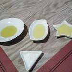 A selection of Andalusian olive oils