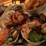 Sea food platter to die for