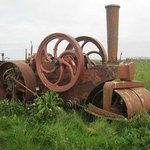 Papa Westray old steam engine