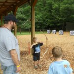 archery fun for the whole family!