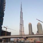 Burj Khalifa outside