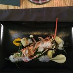 Lobster with wild mushrooms and tarragon gnocchi