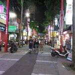 Xiementing at night