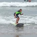 Catching a wave!!