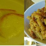 Cheese and pasta