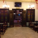 Main entrance - baba style