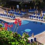 piscine vue balcon