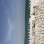 Complimentary beach chairs