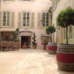 the wonderful courtyard
